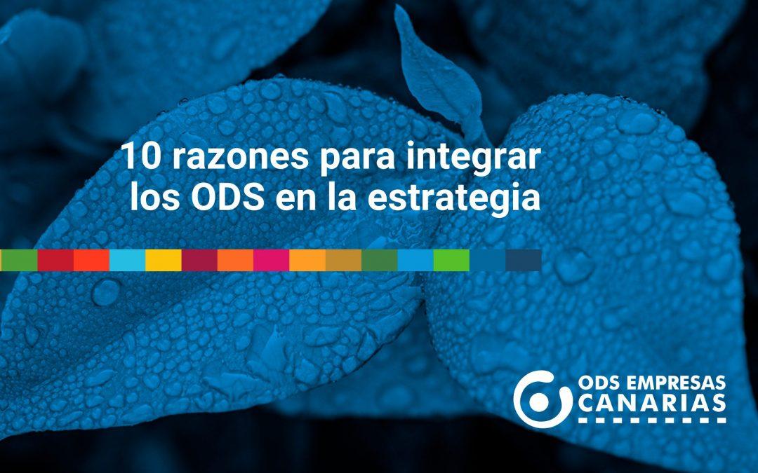 10 razones para integrar los ODS en la estrategia empresarial